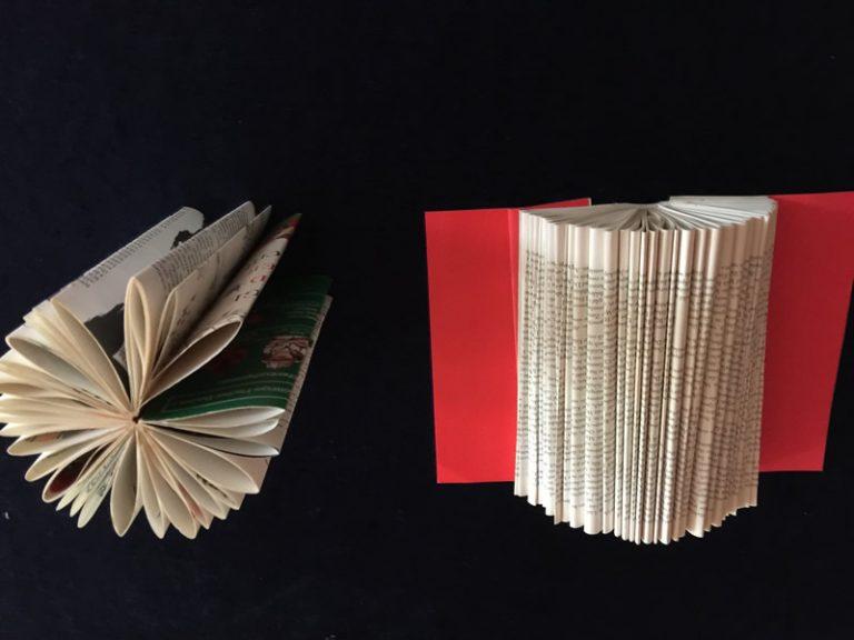 Papier-Skulpturen- Neues aus alten Büchern!