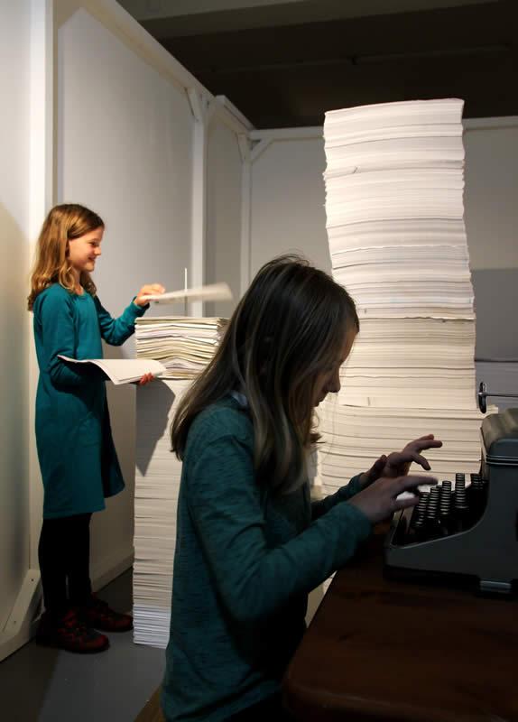 Papierstadt der Kunstbaustelle