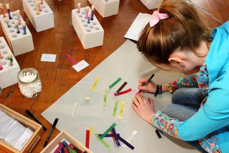 Gedanken-Duft-Labor im Zentrum für Künstlerpublikationen